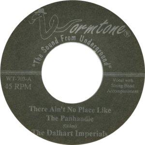 DALHART IMPERIALS - WORMTONE 703 C
