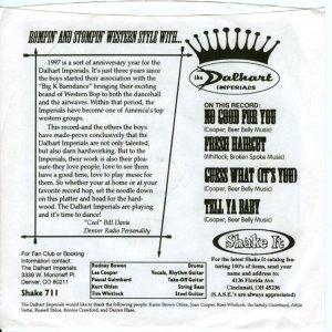DALHART IMPERIALS - WORMTONE 711 B