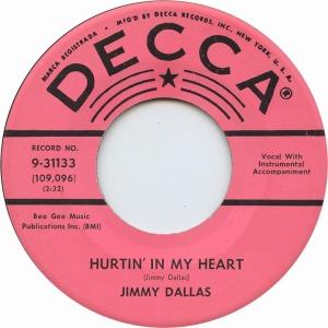 DALLAS JIMMY - DECCCA 31113 A