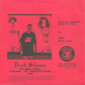 DEAD SILENCE - PROFANE 21 B