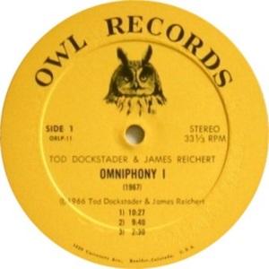 DOCKSTADER TIM - OWL 11 C 1966