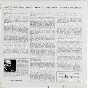 DOCKSTADER TIM - OWL 1966 B