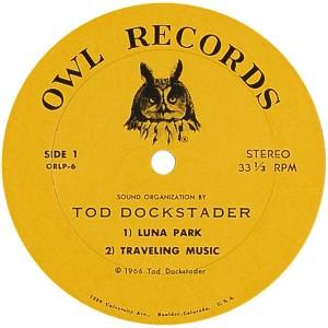 DOCKSTADER TIM - OWL 1966 C