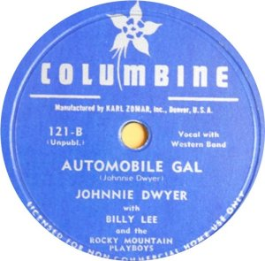 DWER JOHNNIE - COLUMBINE 121 A