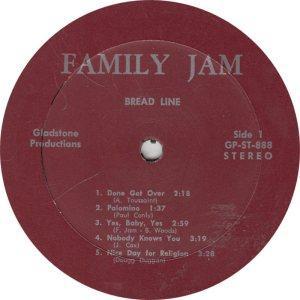 FAMILY JAM - GLADSTONE 888 R