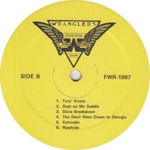 FLYING W WRANGLERS - FW 1987 RB