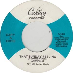 GARY & EDDIE - CARTAY 5340