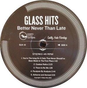 GLASS HITS LP 2 E