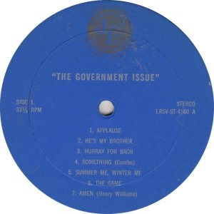 GOVERNMENT ISSUE - JL 4560 A (1)