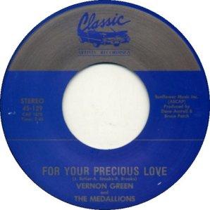 GREEN VERNON - CLASSIC 129 1991 A