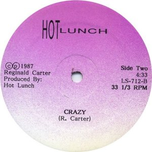 HOT LUNCH 1987 C