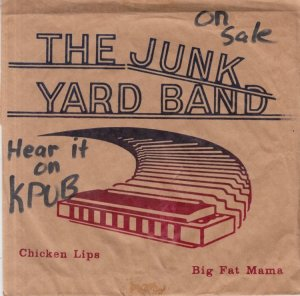 JUNK YARD BAND - RECORD SACK