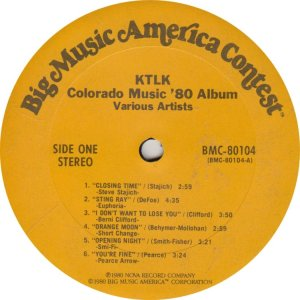 KTLK LP BIG MUSIC