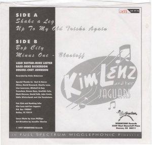LENZ KIM - WORMTONE B