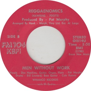 MEN WITHOUT WORK - WHAMCO 1814