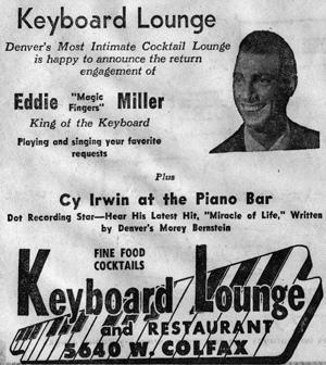 "Eddie Miller (image from ""The Denver Eye"")"
