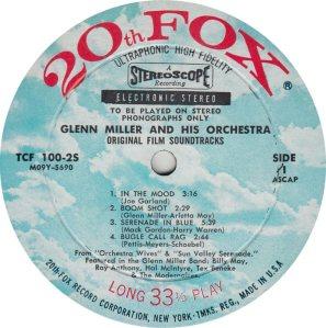 MILLER GLENN - 20TH FOX 100-25 _0002