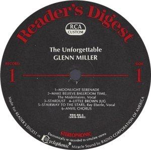 MILLER GLENN - RCA 64 1968 72 GREATEST C