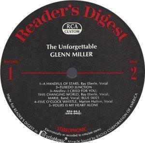 MILLER GLENN - RCA 64 1968 72 GREATEST D