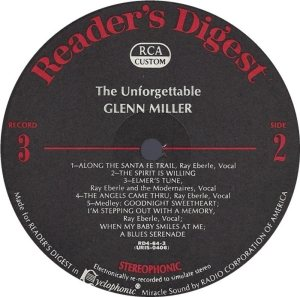 MILLER GLENN - RCA 64 1968 72 GREATEST H
