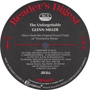 MILLER GLENN - RCA 64 1968 72 GREATEST J