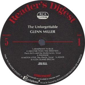 MILLER GLENN - RCA 64 1968 72 GREATEST K