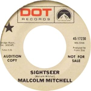 MITCHELL MALCOM - DOT 17230 A