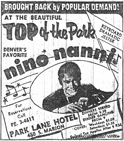 "Nino Nanni (Image from ""The Denver Eye"")"