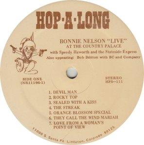 NELSON BONNIE - HOP A LONG 111A (1)