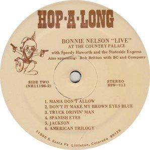 NELSON BONNIE - HOP A LONG 111A (2)