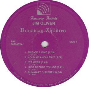 OLIVER JIM - RUNAWAY 6070 A (1)