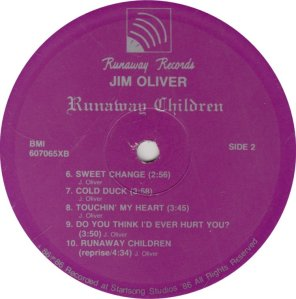 OLIVER JIM - RUNAWAY 6070 A (2)