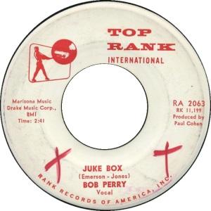 PERRY BOB - TOP RANK A