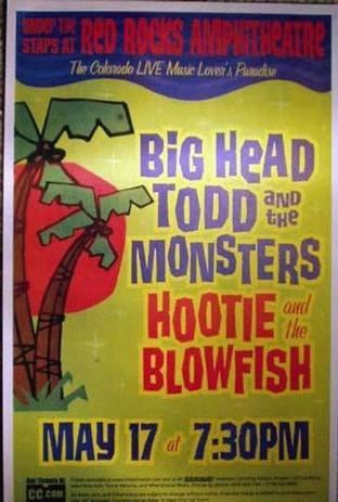 POSTER - BIG HEAD TODD