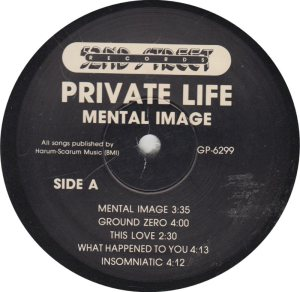 PRIVATE LIFE - 52ND STREET R