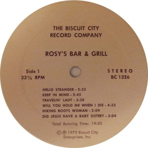 ROSY'S BAR AND GRILL BC 1326 C