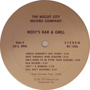 ROSY'S BAR AND GRILL BC 1326 D