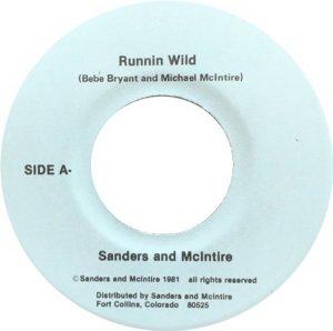 SANDERS & MCINTIRE RUNNIN WILD & HOT STUFF
