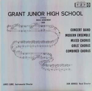 SCHOOL - GRANT JR HIGH LRS 1268