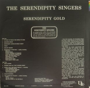 SERENDIPITY SINGERS - GOLD M (2)