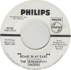 SERENDIPITY SINGERS - PHILIPS 40198 DJ ADD