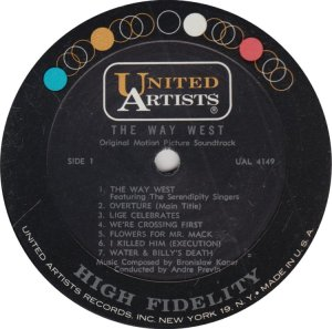SERENDIPITY SINGERS - UNITED ARTISTS 4149 A (1)