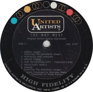 SERENDIPITY SINGERS - UNITED ARTISTS 4149 A (2)