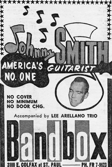 """Johnny Smith (Image from """"The Denver Eye"""")"""