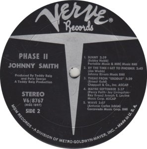 SMITH JOHNNY - VERVE 8767 A (2)