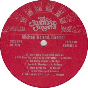 SONRISE SINGERS - EAGLEGEAR 63081 A (1)