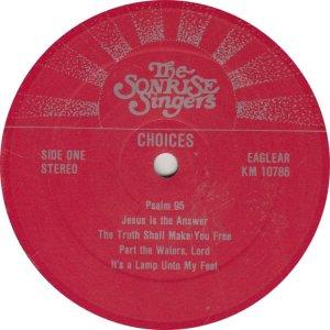 SONRISE SINGERS LPa (1)