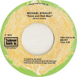 STANLEY MICHAEL - TUMBLEWEED 1010 A