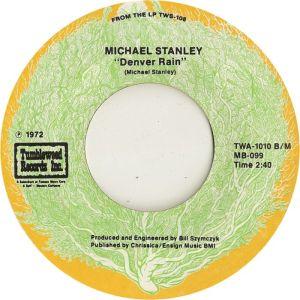 STANLEY MICHAEL - TUMBLEWEED 1010 B