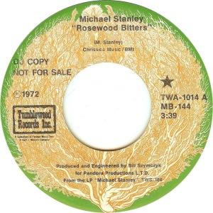 STANLEY MICHAEL - TUMBLEWEED 1014 A